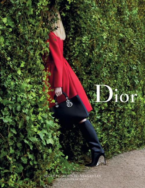 Dior –ը թողարկել է «Secret Garden» նոր տեսահոլովակ