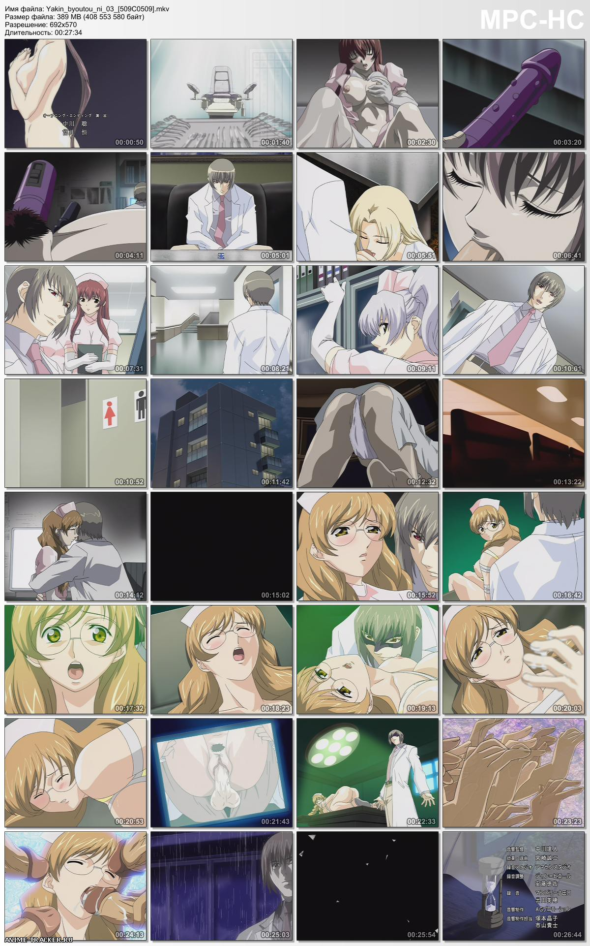 Night Shift Nurses / Yakin Byoutou / Медсестры ночной смены [complete collection] [JPN,ENG,RUS,Multi] Anime Hentai