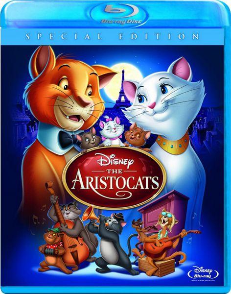 Коты-аристократы / The AristoCats (1970) BDRip 1080p | DUB