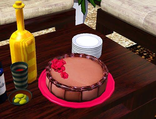 Как добавить торт в симс