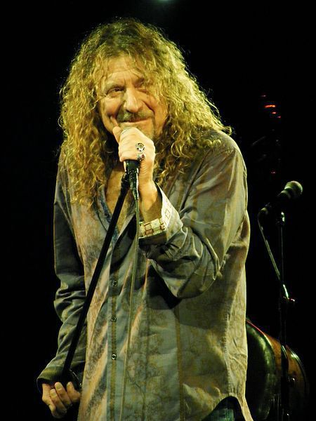 "Robert Plant (""Led Zeppelin"") - 66 лет"