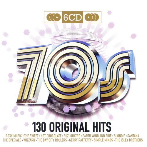 70's - 130 Original Hits (6CD)