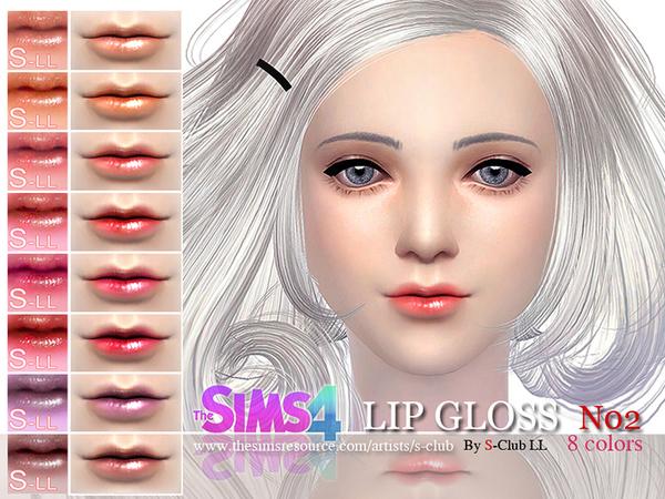 S-Club LL thesims4 Lipstick Glossy 02.jpg