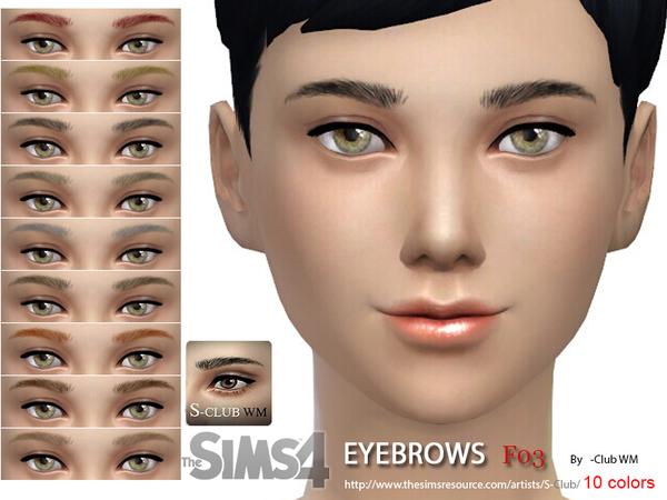 S-Club WM thesims4 Eyebrows F03.jpg