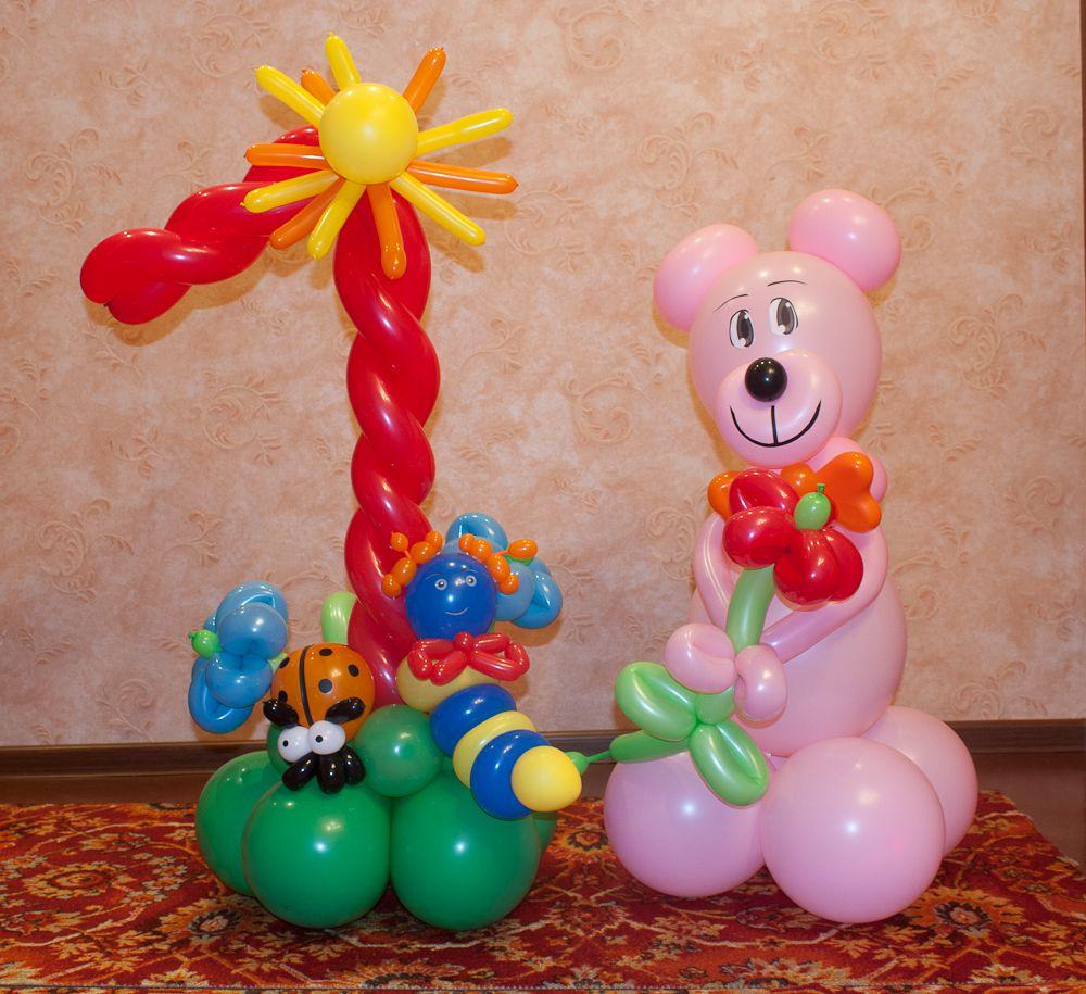 Поделки из воздушных шаров на день рождения мальчику 97