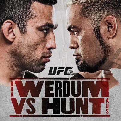 UFC 180: Werdum vs Hunt (Main card) [15.11.2014, MMA, DVB, RU, EN]