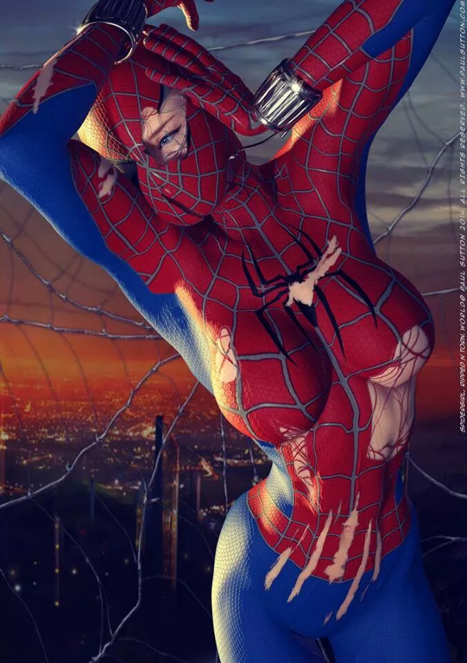 Косплей: человек-паук 1