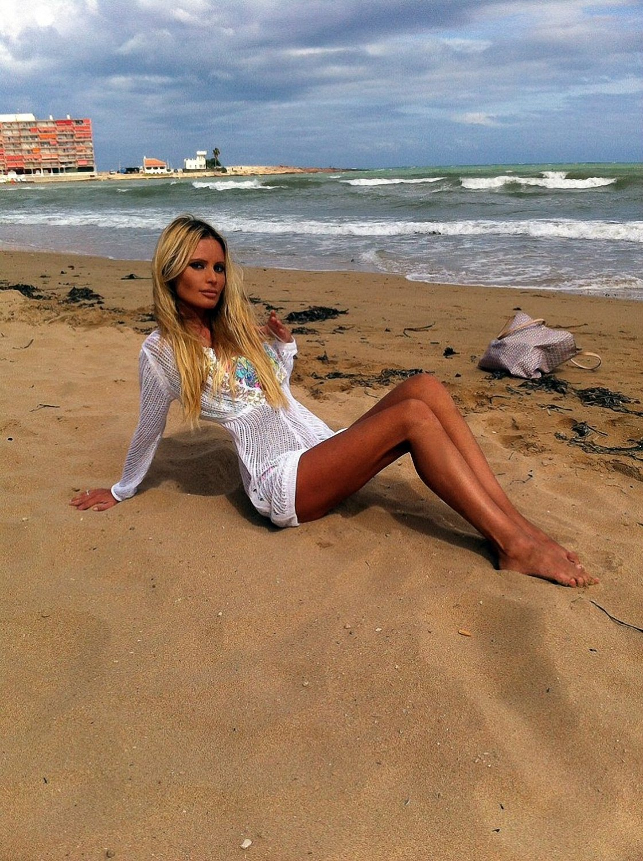 Дана борисова фото пляж