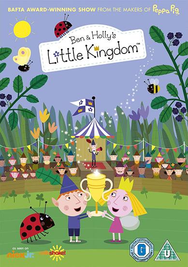Маленькое Королевство Бена и Холли / Ben and Holly's Little Kingdom  [01x01-52 из 52] (2009-2012) HDTVRip