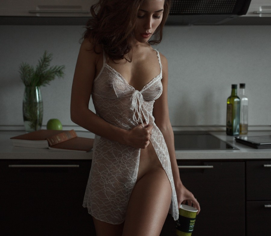 Утром на кухне