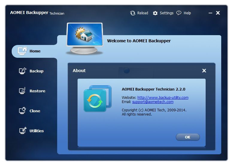 AOMEI Backupper 2.2.0.0 - (Antonhyip)