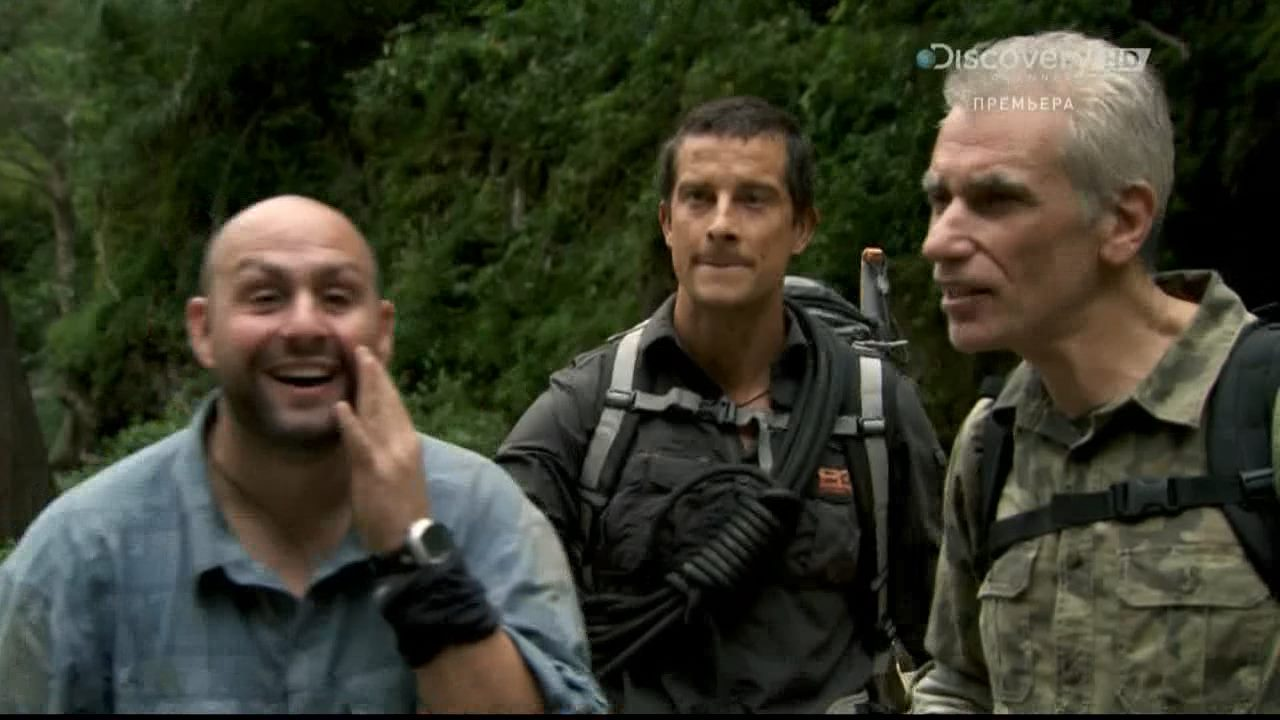 Discovery. Беар Гриллс: испытание страхом / Bear Grylls: Breaking Point (1-3 серия) (2014) HDTVRip 720p