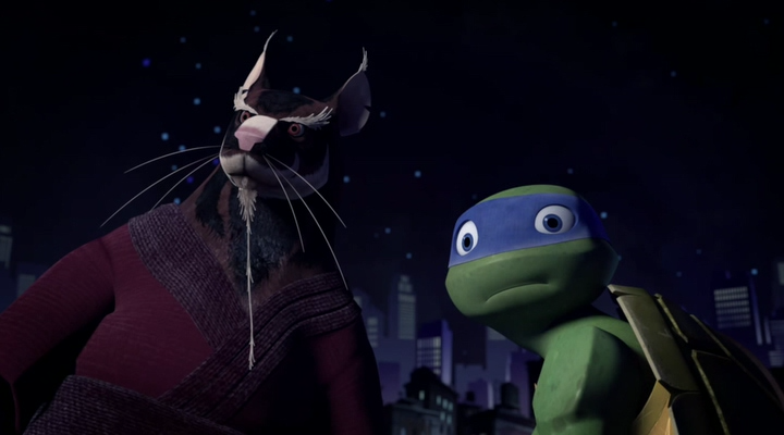 Черепашки-ниндзя / Черепашки Мутанты Ниндзя / Teenage Mutant Ninja Turtles (2 сезон 1-26 серии из 26 ) (2013) WEB-DLRip