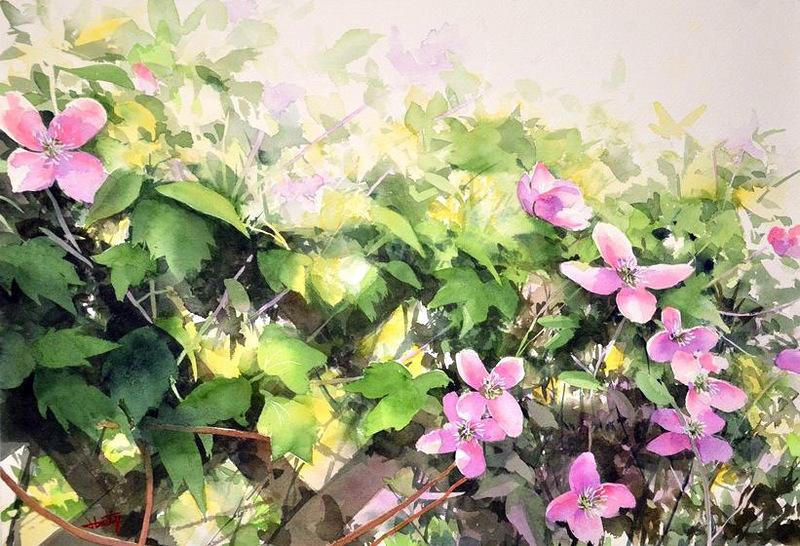 Творчество японского художника  Абэ Toshiyuki