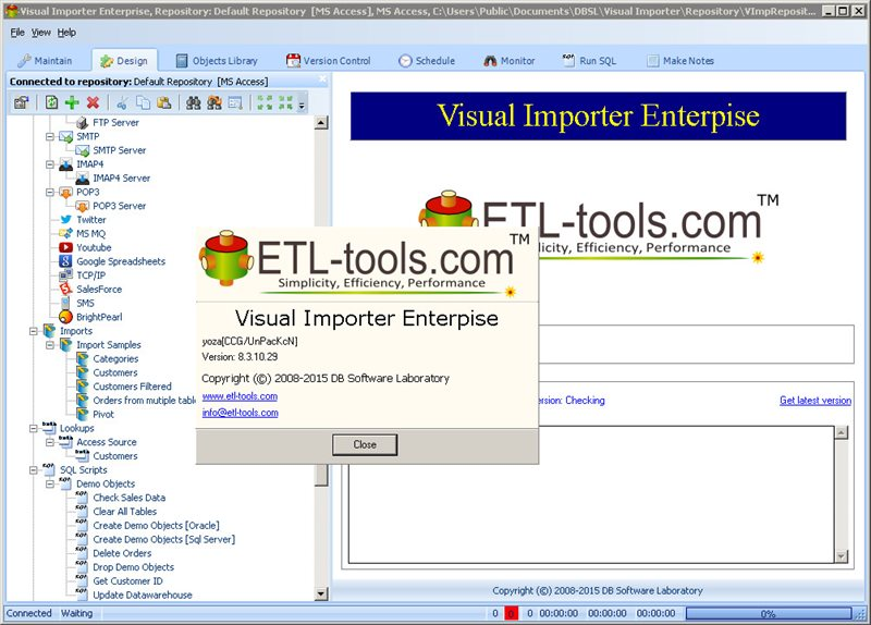 Visual Importer Enterprise 8.3.10.29