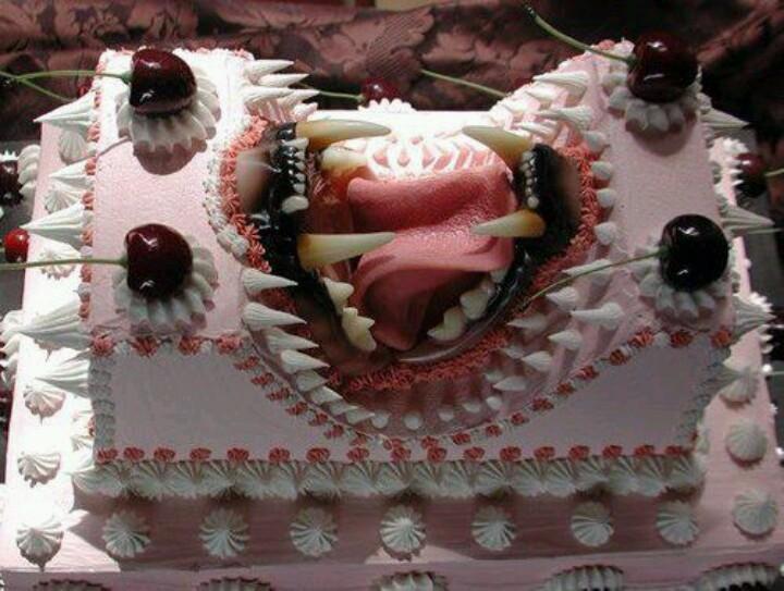 Хищный тортик