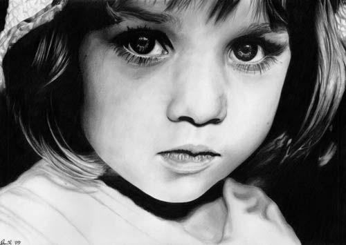Рисунки карандашом. Sara Stachowiak