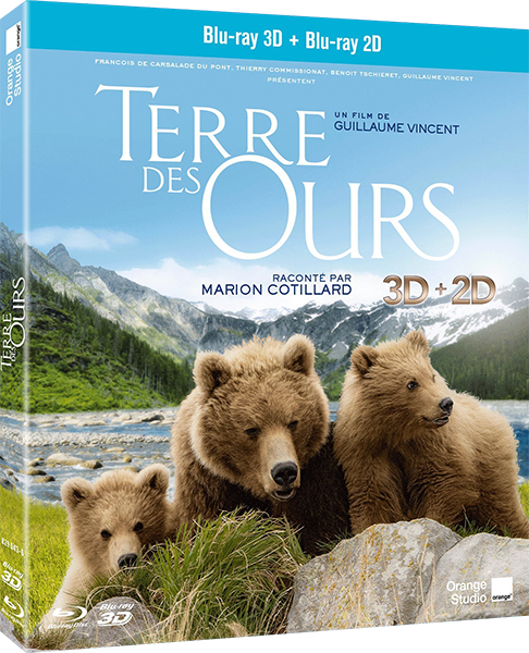 ����� �������� � 3� / Land of the Bears 3D (2013) [BDRip by Ash61, Half OverUnder / ������������ ���������� ����������]