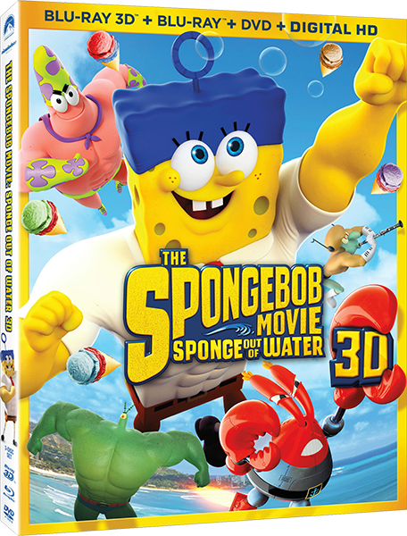 Губка Боб в 3D / The SpongeBob Movie: Sponge Out of Water (2015) ВDRip 1080p | DUB | 3D-Video | HSBS | Лицензия