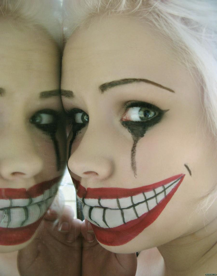 Клоунский макияж