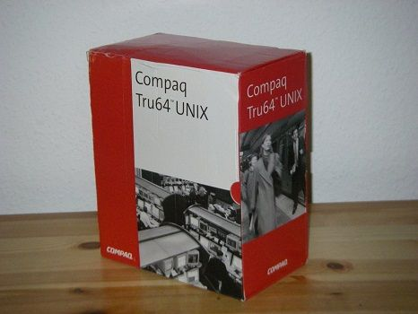 TRU64 UNIX 5.1 B-4 [Alpha] 6xCD