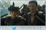 Пираты Карибского моря - На краю Света / Pirates of the Caribbean - At World's End (2007) HDTVRip 720p | DUB | Open Matte