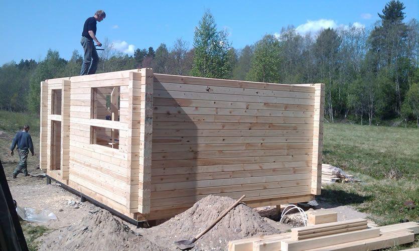 Баня из профилированного бруса: преимущества и особенности строительства