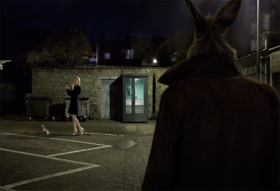 В глухом переулке