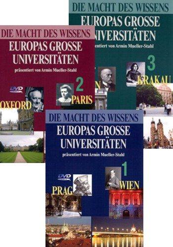 Da Vinci Learning: Сила знания. Великие университеты Европы / The Power of Knowledge - Europe's Great Universities [серии 1-6 из 6] (2005) SATRip