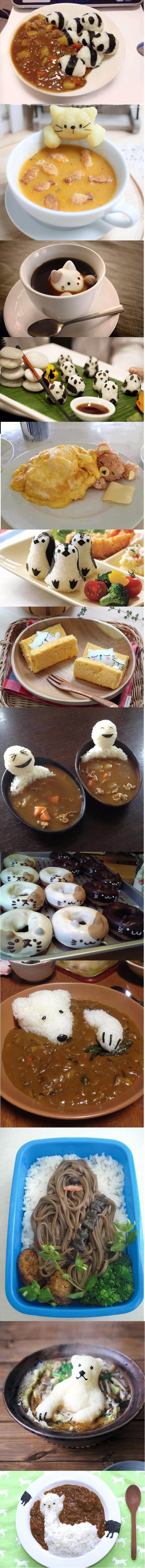 Оформляем еду по-японски
