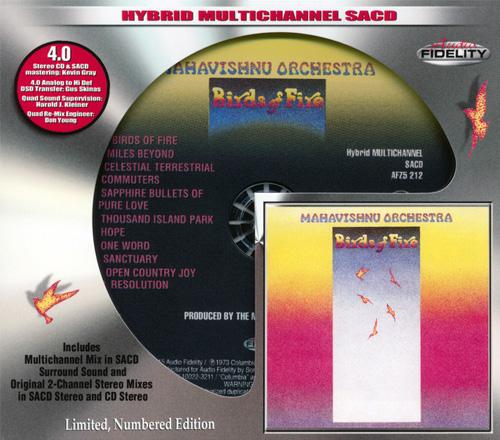 (Fusion, Jazz-Rock) [CD] Mahavishnu Orchestra - Birds Of Fire (1973) - 2015, FLAC (image+.cue), lossless