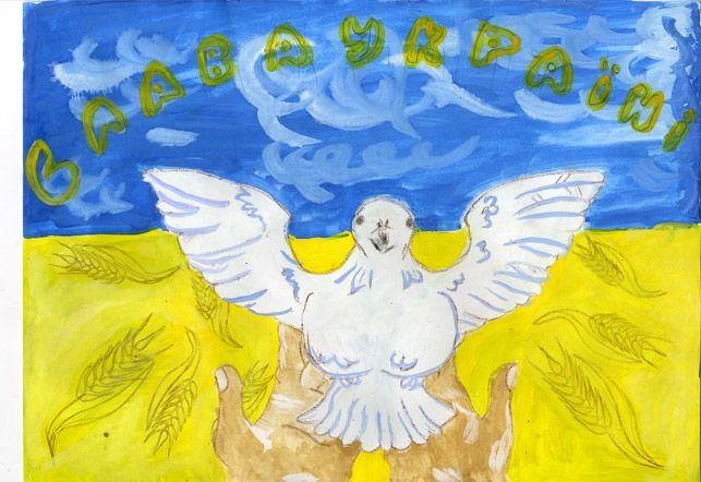 """""""Це Луганськ - велика квітка. Вибухи не можна зображати. Це суперечить канонам писанкарства"""", - бойцы во время перемирия занимаются творчеством и оборудуют свои позиции - Цензор.НЕТ 7705"""