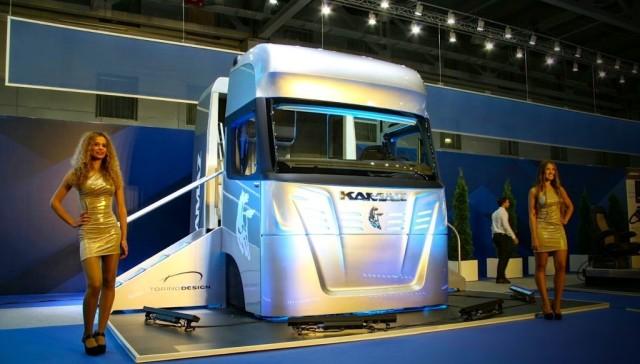 КАМАЗ - новая кабина «Трансформер»