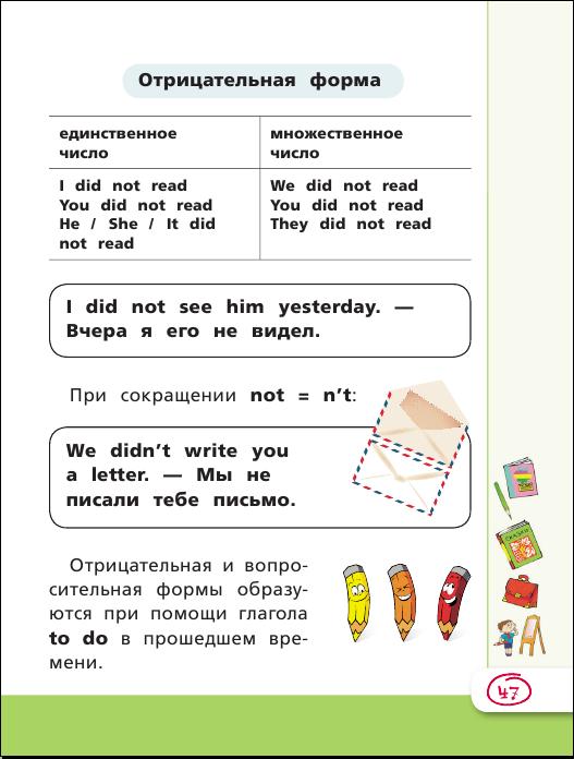 Матвеев английский язык все правила в картинках схемах и таблицах