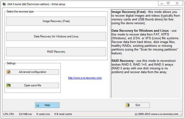 Zero Assumption Recovery 10.0.168