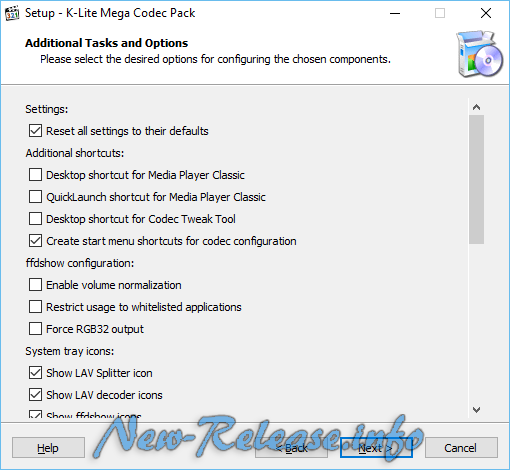 K-Lite Mega Codec Pack 12.6.5 Final
