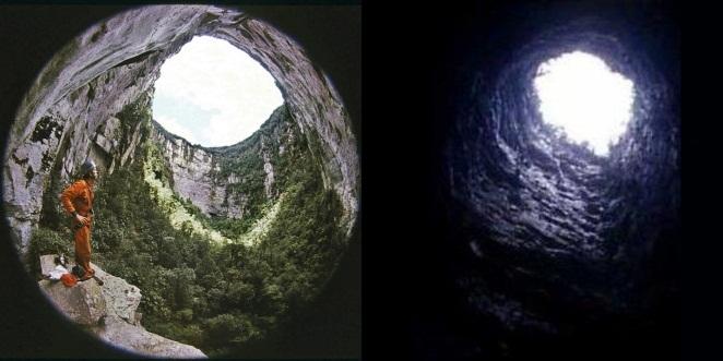 Карстовые воронки на Тепуи