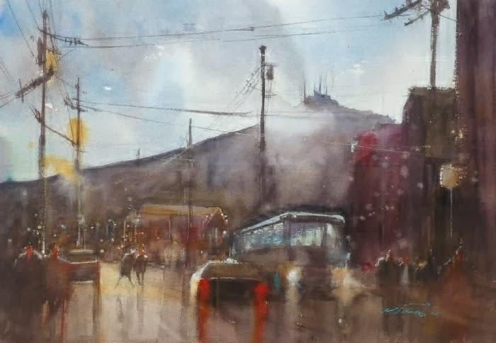 Творчество молодой художницы из Японии Keiko Tanab