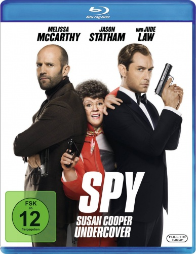Шпион / Spy (2015) (BDRip 720p | Unrated Cut) 60 fps