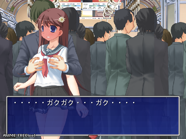 Particular Grope Train [2015] [Cen] [SLG, Touching] [JAP] H-Game