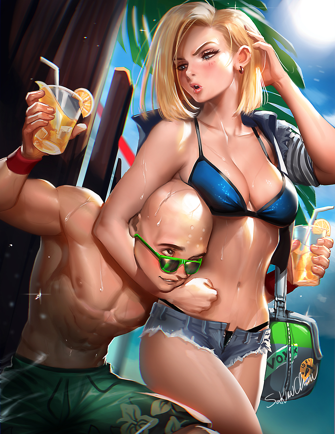 Android 18 porn 3d sexual movie