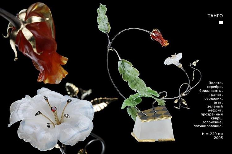 Изысканные миниатюры из камня