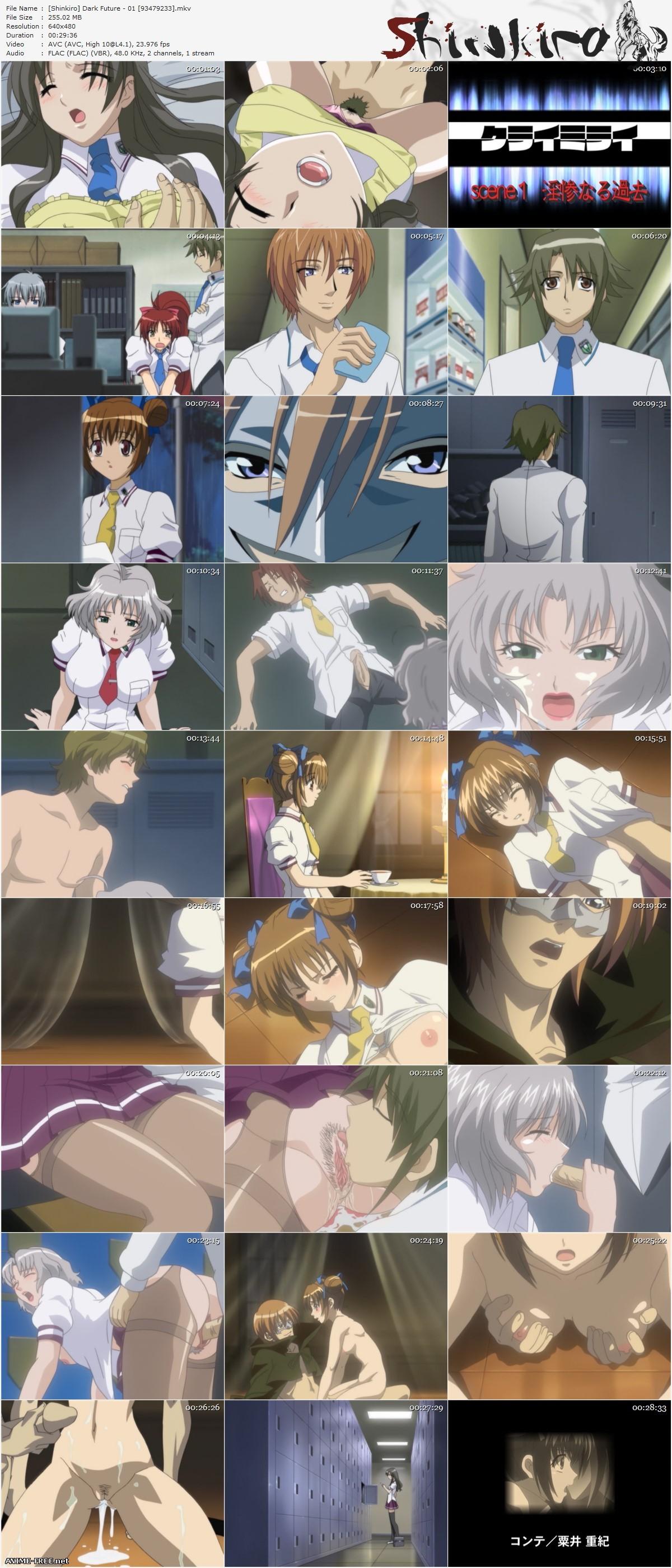 Dark Future / Kurai Mirai / Тёмное будущее [2 из 2] [RUS,ENG,JAP] Anime Hentai