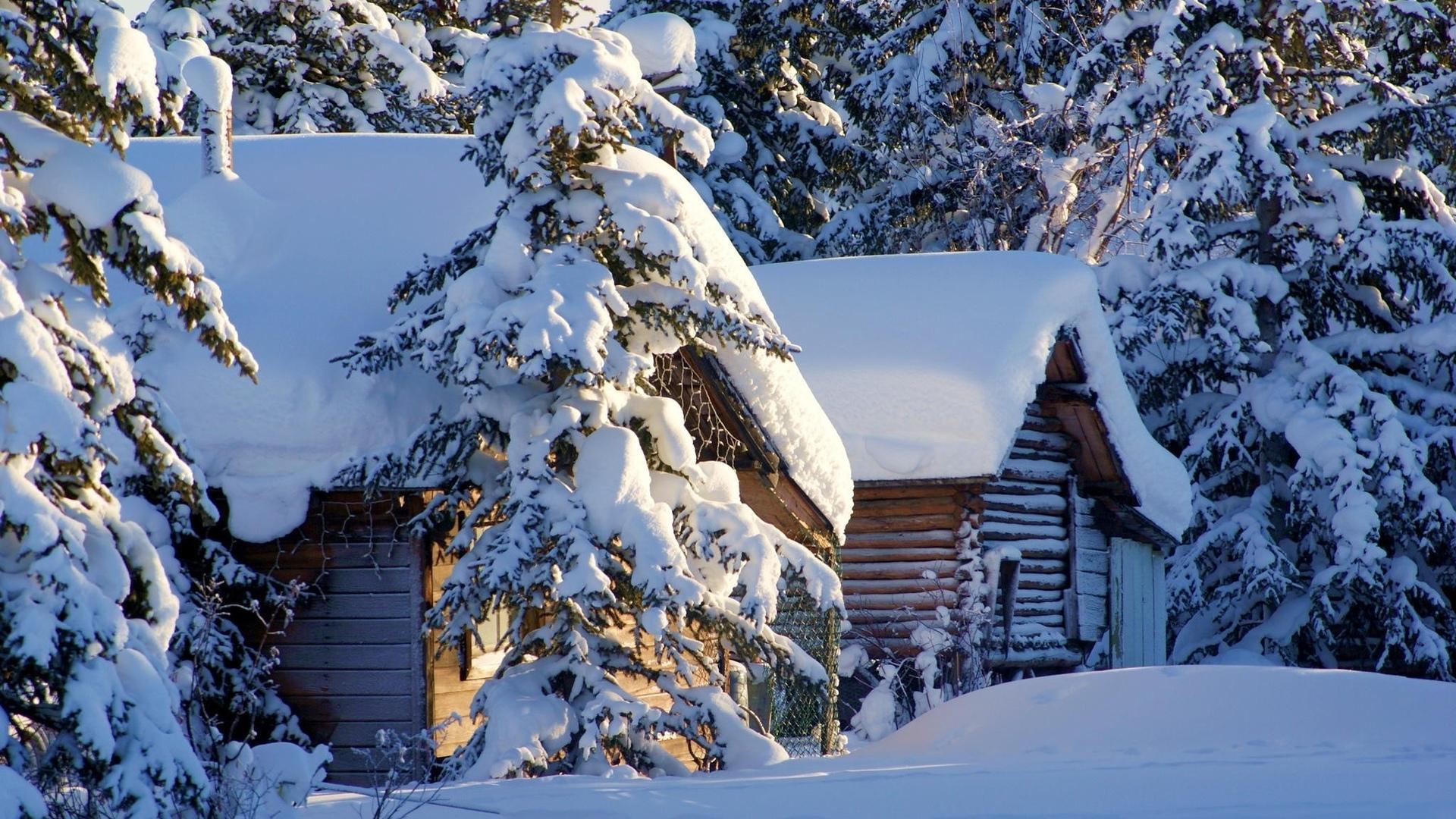 Картинки зимы на рабочий стол хорошего качества