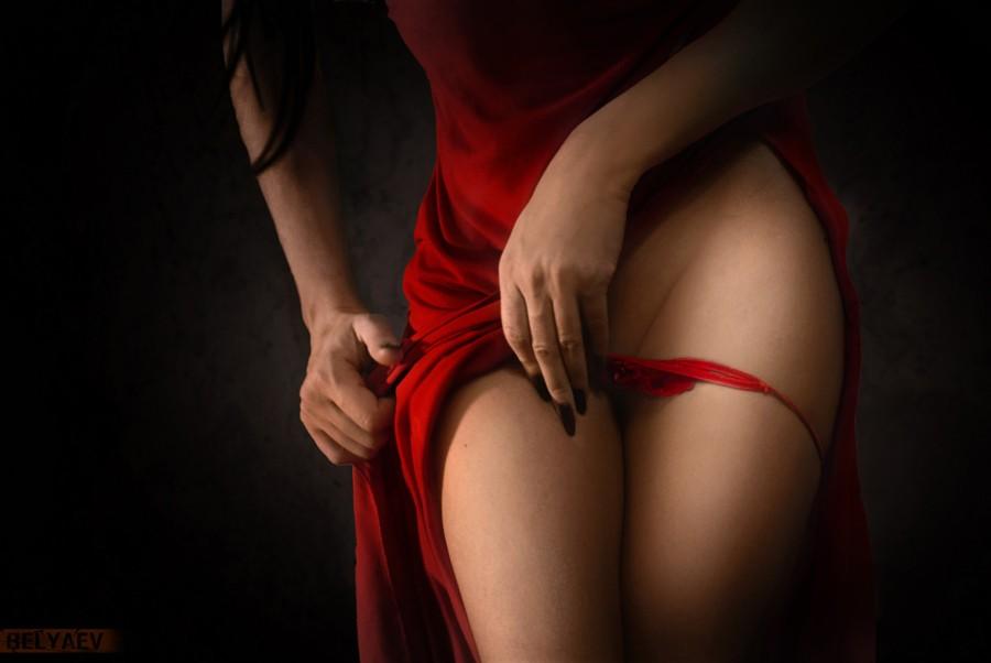 Красные трусики