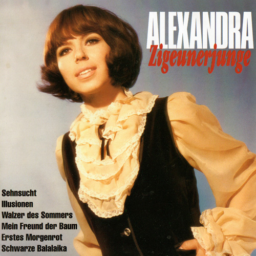 (Pop, Schlager deutsch) [CD] Alexandra - Zigeunerjunge - 199, FLAC (image+.cue), lossless