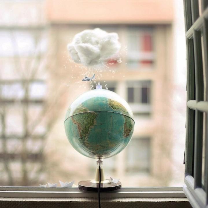 Облачко над Землей