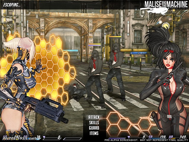 Malise and the Machine [2015-2016] [Uncen] [RPG, Shooter] [ENG] H-Game