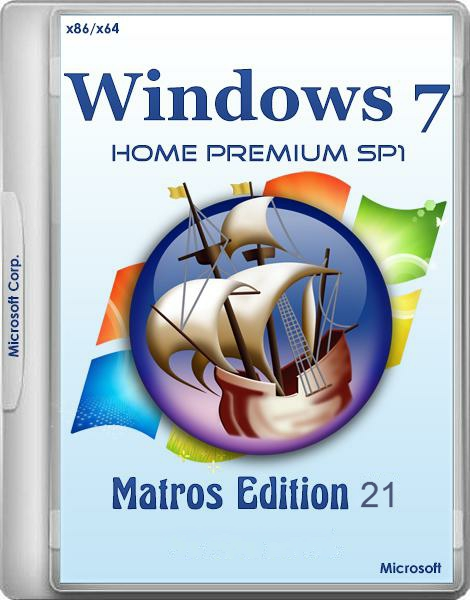 Windows7M x64x86 ult hpr edition in one by Matros 21[Ru]