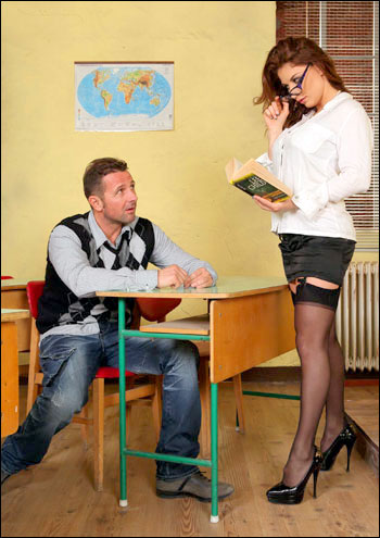 Roberta Gemma - Banging the Art Teacher (2011) SiteRip